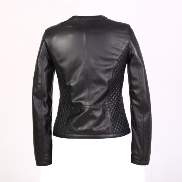 Classy sophisticated leather jacket
