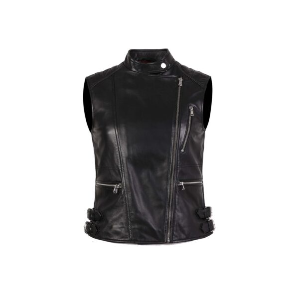 Leather vest for the party