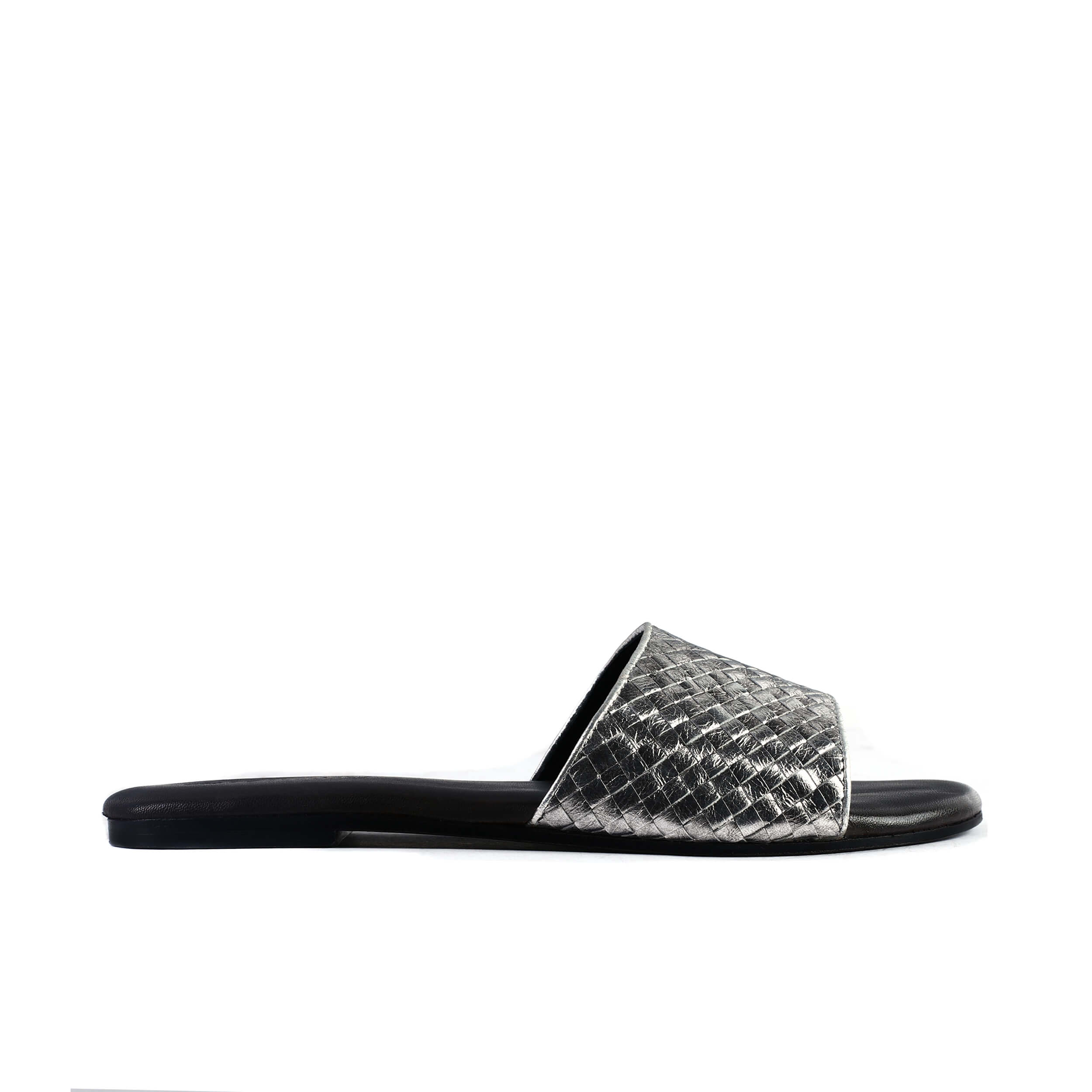Image of leather flat by Triggos